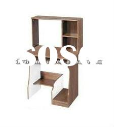 concise design wooden computer desk with shelf CD714