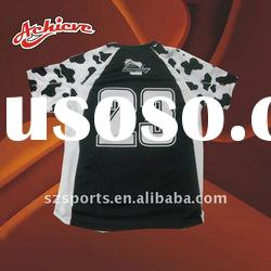 custom dye sublimation shooting shirts with your own design