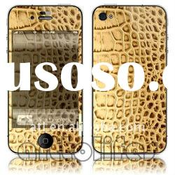 customized fashion design For iphone 4G decoration skin sticker