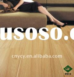 factory direct AC3/AC4 gloosy surface teak wood HDF Laminate Flooring