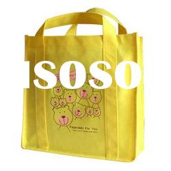 foldable recycled non woven shopping bag