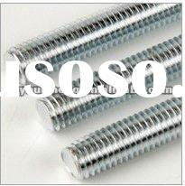 full thread rod,zinc plated threaded rod
