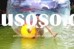 funny inflatable ball games walk on water