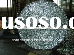 galvanized/pvc barbed wire for fence