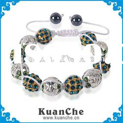 gold plated indian shamballa jewelry set wholesale