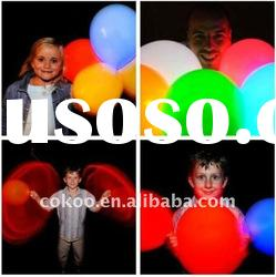 helium led lights balloons
