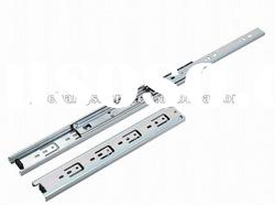 high quality 16 inch (400mm) full extension telescopic ball bearing drawer glide
