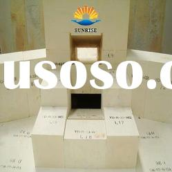 high quality refractory brick fused cast blocks AZS 36# for glass fusing kiln