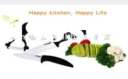 high quality zirconia ceramic chef knife/professional kitchen knife set