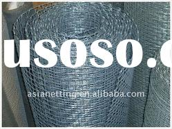 hot dipped galvanized square wire mesh/crimped mesh