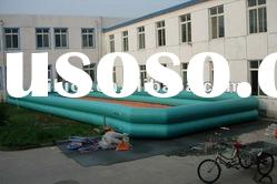 inflatable swimming pool with air blower D2002