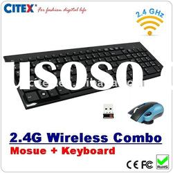 keyboard mouse combo with 2.4g wireless