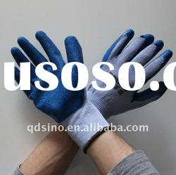 latex coated cotton gloves 10G 21s labor glove cotton hand gloves latex coating glove