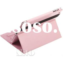 leather stand case for ipad 2 new ipad