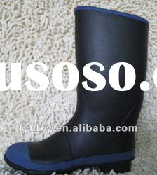 men's fashionable rubber rain boots