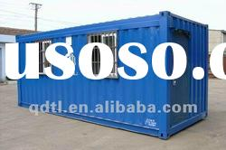movable prefabricated standard 20ft shipping container house