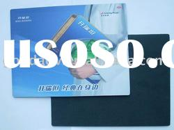 new products for 2012 eco-friendly hot sale cheaper fabric mouse pad