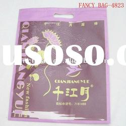 nice pattern non-woven bag with printing