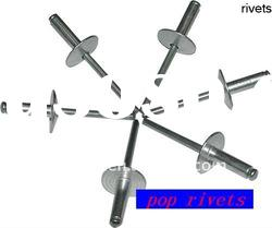 open type aluminum pop rivets -(manufactory)