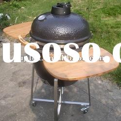 outdoor cooking 21 inch ceramic bbq smoker/ceramic oven factory