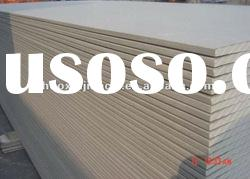 paper faced gypsum board for wall partition 1200x2400 ISO9001:2008