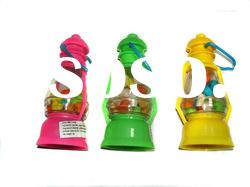 plastic lamp container with candy/fishing lamp candy