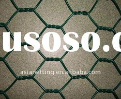 pvc coated hexagonal wire mesh/hexagonal wire netting