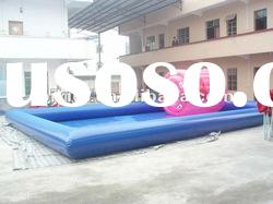 pvc inflatable square swimming pool D2007