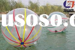 pvc water walking ball/big water ball inflatable/inflatable ball 1.6m