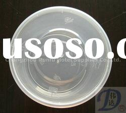 round plastic disposable food container-750/1000ml