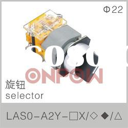 round selector LAS0-A(selector push button switch,selector switch)