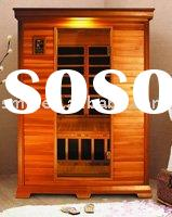 sauna room for 2 person.