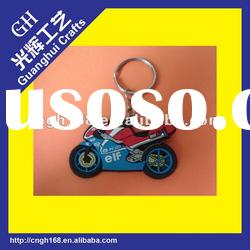 soft pvc key chain/key ring/3d soft pvc key chain