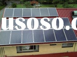 solar system 1kw grid off solar energy system for home use 10 years warranty