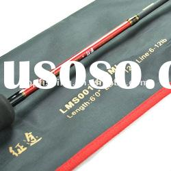 spinning fishing rod bass rod, fishing tackle LMS001-662M