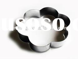 stainless steel ring, kitchen accessories,cookie cutter