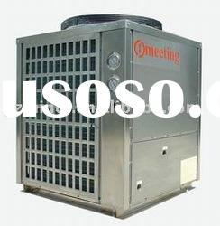 stainless steel shell air source heat pump