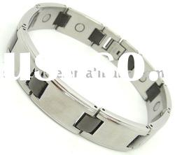 stainless steel stamping jewelry Magnetic fashion IPB bracelet