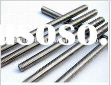 stainless steel threaded rod,zinc plated stainless threaded rod