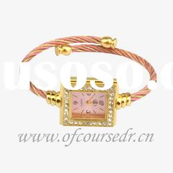 stainless steel wrist watches ladies diamond