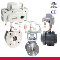 switch type electric PVC ball valve
