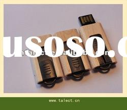 the pop bamboo USB memory stick promotional gifts