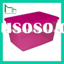 waterproof plastic storage box with sealed lid