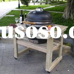 wholesale balcony bbq grill/stainless steel outdoor charcoal grill/Kamado