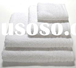 100%cotton white terry hotel towel/bath towel/hand towel/face towel