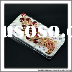 100% handmade luxury bling cell phone cases for iphone 4g/4s with factory price