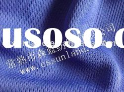 100% polyester shiny pique mesh fabric for sportswear