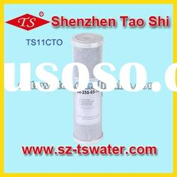 11 inch activated carbon block filter cartridge / CTO