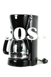 12 CUPS CAPACITY ELECTRIC AUTOMATIC DRIP COFFEE MAKER WITH HIGH TEMPERATURE RESISTANT GLASS JAR
