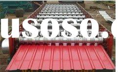 15-225-900 Automatic color steel cold roll forming machine